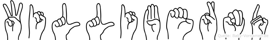 Willibernd in Fingersprache für Gehörlose