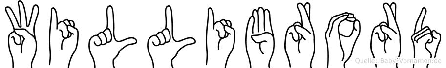 Willibrord in Fingersprache für Gehörlose