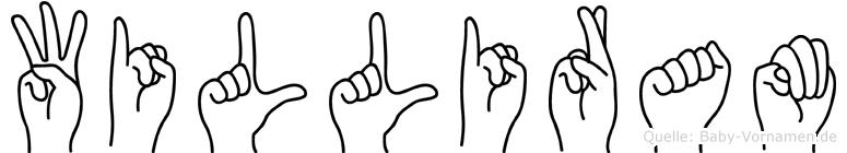 Williram in Fingersprache für Gehörlose