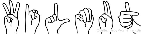 Wilmut in Fingersprache für Gehörlose