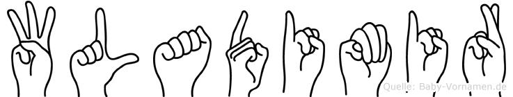 Wladimir in Fingersprache für Gehörlose