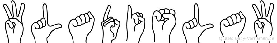Wladislaw in Fingersprache für Gehörlose