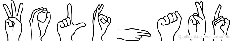Wolfhard in Fingersprache für Gehörlose