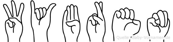 Wybren in Fingersprache für Gehörlose