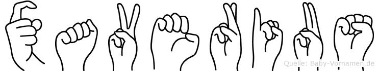 Xaverius in Fingersprache für Gehörlose