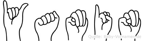 Yamin im Fingeralphabet der Deutschen Gebärdensprache