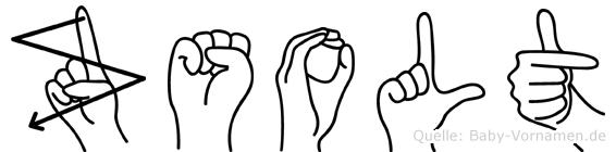 Zsolt in Fingersprache für Gehörlose