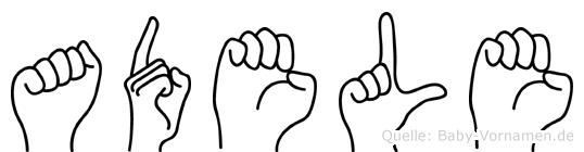 Adele in Fingersprache für Gehörlose