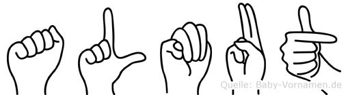 Almut in Fingersprache für Gehörlose