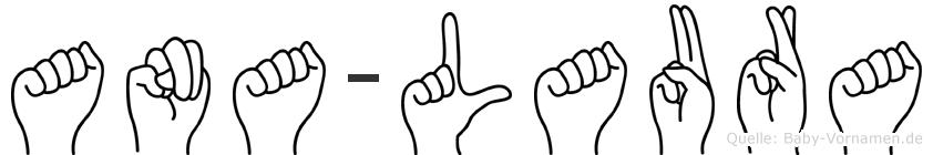 Ana-Laura im Fingeralphabet der Deutschen Gebärdensprache