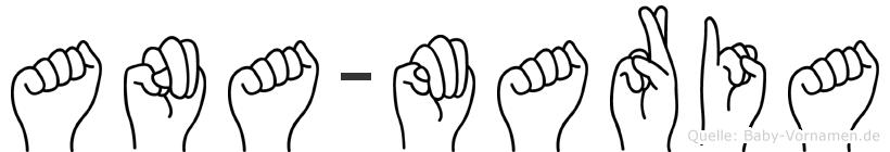 Ana-Maria im Fingeralphabet der Deutschen Gebärdensprache