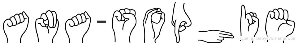 Ana-Sophie im Fingeralphabet der Deutschen Gebärdensprache