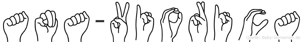 Ana-Viorica im Fingeralphabet der Deutschen Gebärdensprache