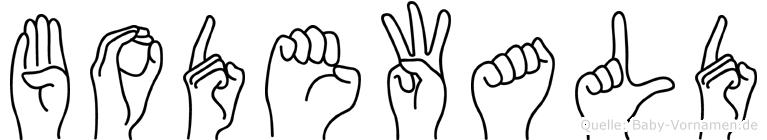 Bodewald in Fingersprache für Gehörlose