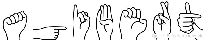 Agibert in Fingersprache für Gehörlose