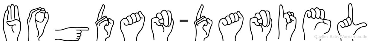 Bogdan-Daniel im Fingeralphabet der Deutschen Gebärdensprache