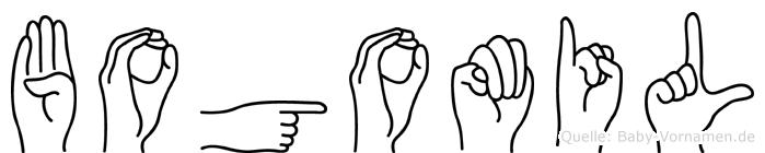 Bogomil in Fingersprache für Gehörlose