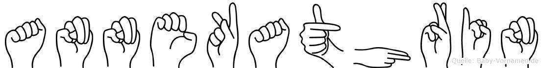 Annekathrin im Fingeralphabet der Deutschen Gebärdensprache