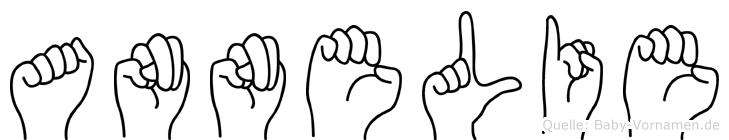 Annelie in Fingersprache für Gehörlose