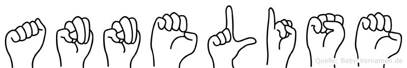 Annelise im Fingeralphabet der Deutschen Gebärdensprache