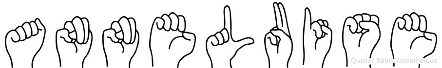 Anneluise im Fingeralphabet der Deutschen Gebärdensprache