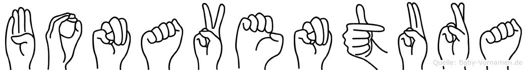 Bonaventura in Fingersprache für Gehörlose