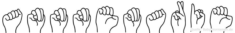 Annnemarie im Fingeralphabet der Deutschen Gebärdensprache