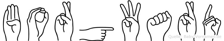 Borgward in Fingersprache für Gehörlose