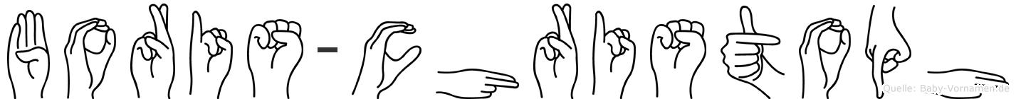 Boris-Christoph im Fingeralphabet der Deutschen Gebärdensprache