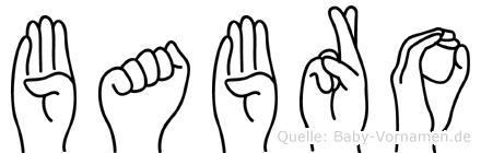 Babro in Fingersprache für Gehörlose