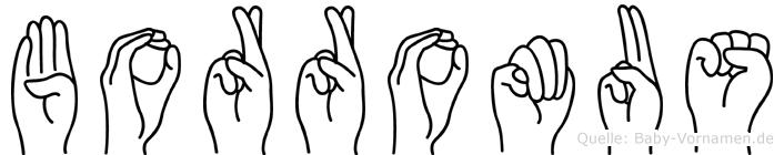 Borromäus in Fingersprache für Gehörlose