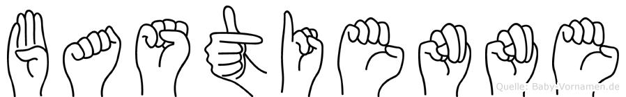 Bastienne in Fingersprache für Gehörlose