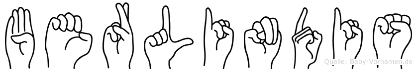 Berlindis in Fingersprache für Gehörlose