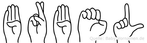 Bärbel in Fingersprache für Gehörlose
