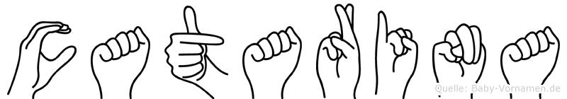 Catarina in Fingersprache für Gehörlose