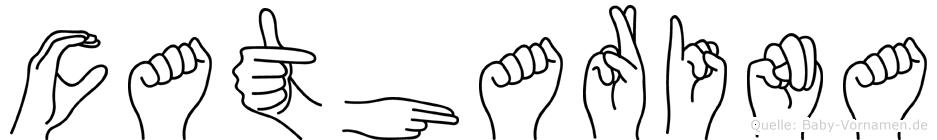 Catharina in Fingersprache für Gehörlose