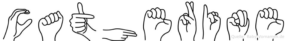 Catherine in Fingersprache für Gehörlose