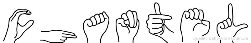 Chantel in Fingersprache für Gehörlose