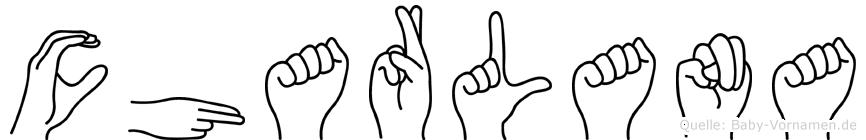 Charlana in Fingersprache für Gehörlose