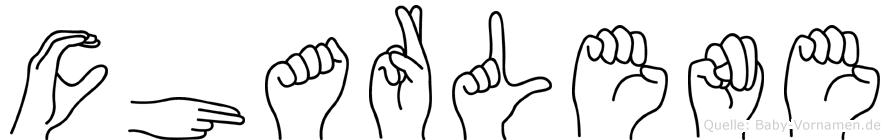 Charlene in Fingersprache für Gehörlose