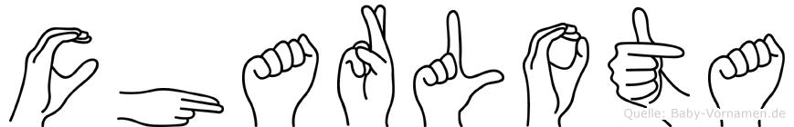 Charlota in Fingersprache für Gehörlose