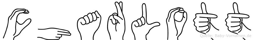 Charlott in Fingersprache für Gehörlose