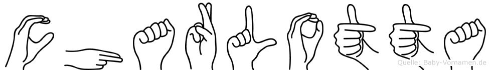 Charlotta in Fingersprache für Gehörlose