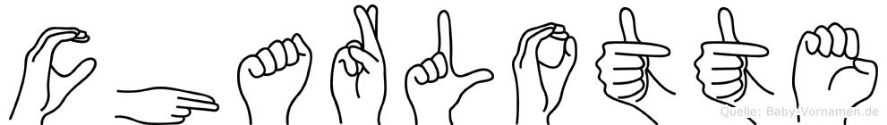 Charlotte in Fingersprache für Gehörlose