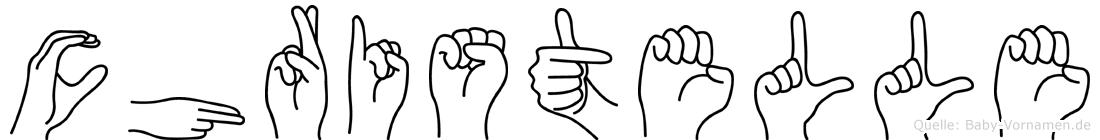 Christelle in Fingersprache für Gehörlose