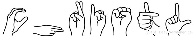 Christl in Fingersprache für Gehörlose