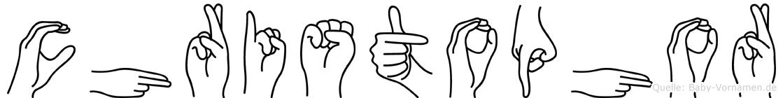 Christophor in Fingersprache für Gehörlose