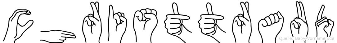 Christtraud in Fingersprache für Gehörlose