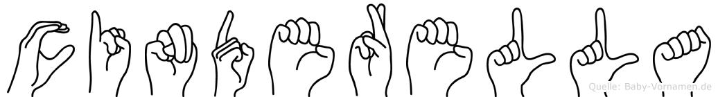 Cinderella in Fingersprache für Gehörlose