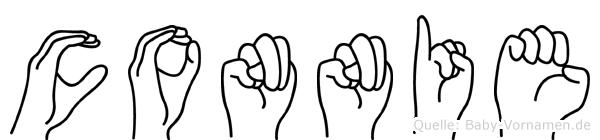Connie in Fingersprache für Gehörlose